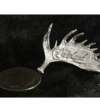 älghorn lappland staty articart Örjansfiske