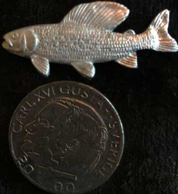 harr smycke pin tennsmycke articart örjansfiske