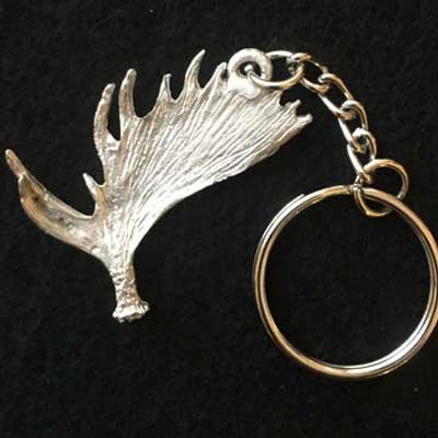 älghorn smycke nyckelring articart örjansfiske