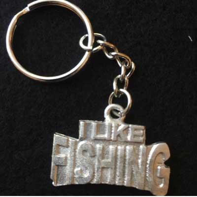 I like fishing smycke nyckelring articart örjans fiske
