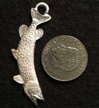 gädda smycke örjansfiske