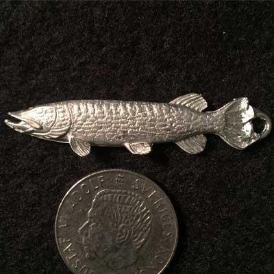 gädda rak tennsmycke Örjansfiske