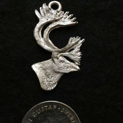 renhuvud smycke örjans fiske