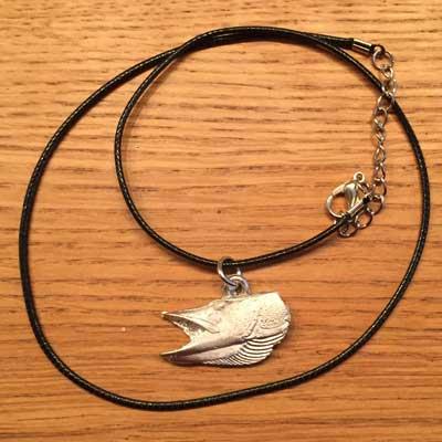 halsband gädda tennsmycke arcticart arcticarts örjansfiske