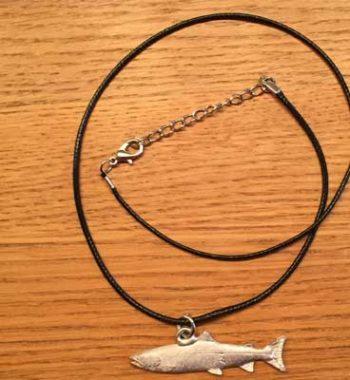 halsband Lax tennsmycke arcticart arcticarts örjansfiske