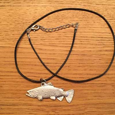 halsband storöring tennsmycke arcticart arcticarts örjansfiske