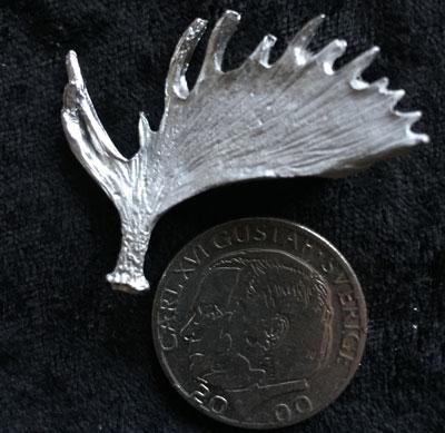 Älgkrona pins Örjans fiske