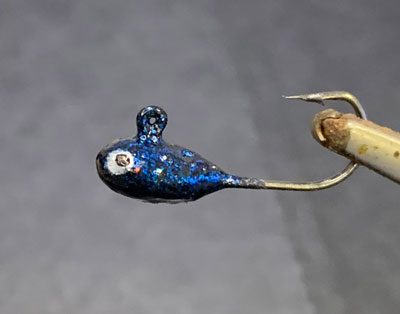 mormyska med ögla balanspirk röd/vit orange silv blå balanspirk öring sil regnbåge röding abborre örjans fiske