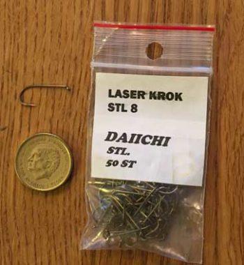 laserkrok daiici 8, kemvässad krok,orjansfiske.se