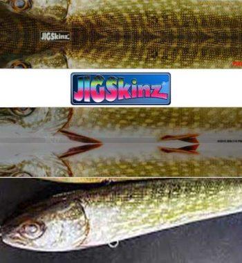 jigskinz gädda örjansfiske
