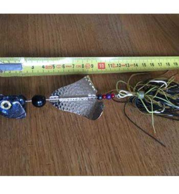 jättespinnare buzzer med huvud örjansfiske Piteå