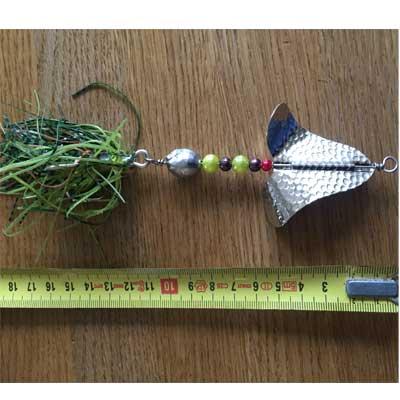 Jättespinnare buzzer örjansfiske piteå
