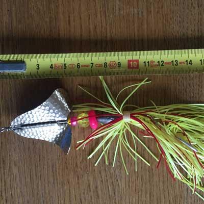 jättespinnare buzzer blades örjansfiske piteå